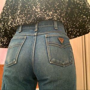 Vintage Railroad Stripe Jeans